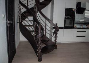 Zdjęcie nr: 12 - Schody gięte spiralne