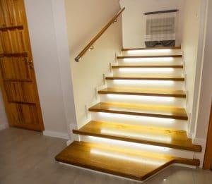 Zdjęcie nr: 6 - Schody na beton z podświetleniem LED
